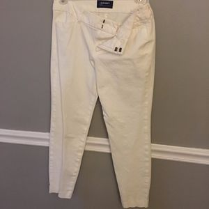old navy pixie mid rise pants